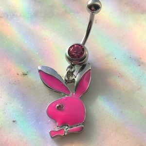 playboy bunny bellybutton ring